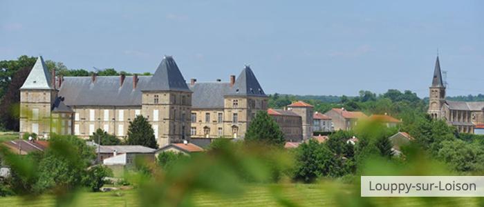 Louppy-sur-Loison château